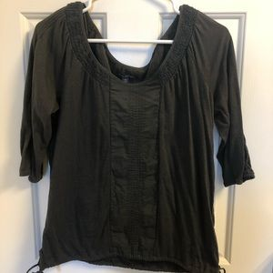 American eagle gray top sized small